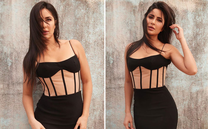 Katrina Kaif Looks HOT In A Black Body Hugging Dress & We Can't Stop Drooling