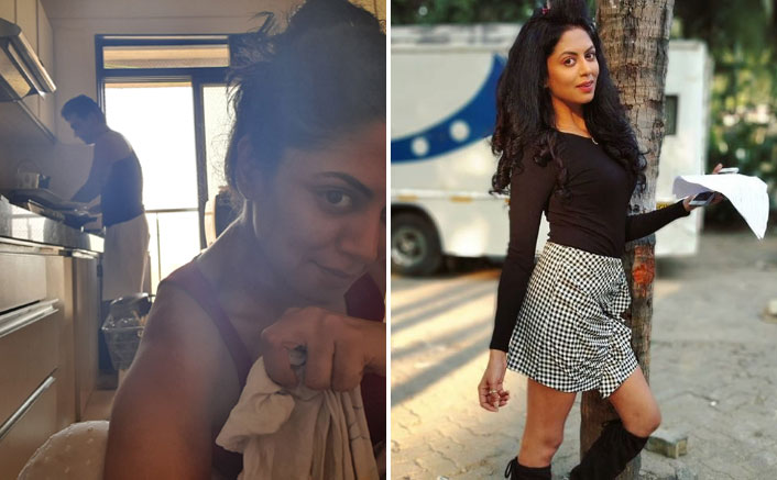 Kavita Kaushik Trolled For Clicking Selfie As Her Husband Does Dishes, Actress Gives It Back In Style!
