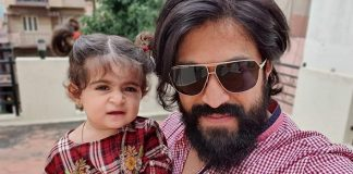 KGF Star Yash Shares An Adorable Pic Post Tonsure Ceremony Of Daughter Ayra From Nanjudeshwara Temple In Mysore