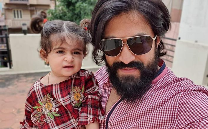 KGF Star Yash Shares An Adorable Pic Post Tonsure Ceremony Of Daughter Ayra From Nanjudeshwara Temple In Mysore