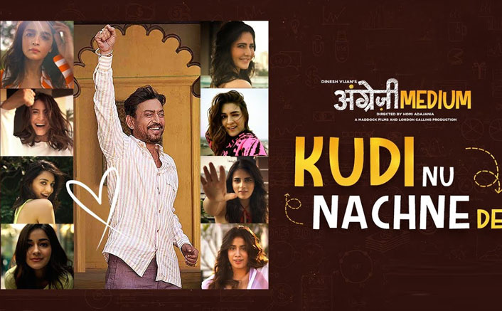 Kudi Nu Nachne De From Angrezi Medium Ft. Alia Bhatt, Katrina Kaif, Anushka Sharma Is Explosion Of Cuteness!