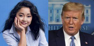 Lana Condor chastises Trump after 'Chinese virus' backlash