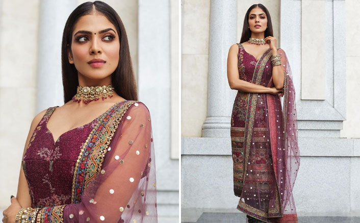 Malavika Mohanan Looks Divine In A Sabyasachi Outfit At 'Master' Audio Launch Event; See Pics