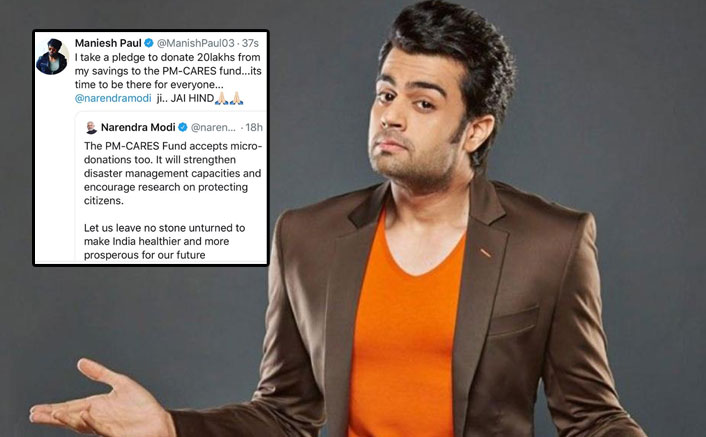 Maniesh Paul Urges Fans To Not Troll Actors Not Donating Funds Amid The Coronavirus Crisis