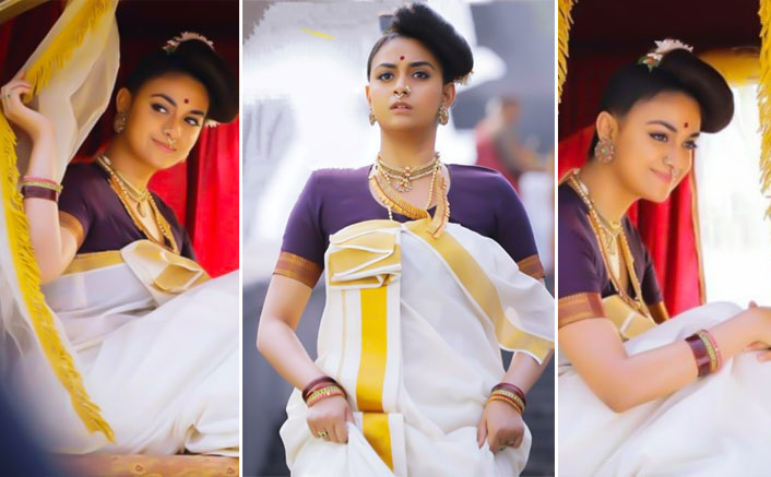 Marakkar: Arabikadalinte Simham: Keerthy Suresh As A Keralite Looks Drop Dead Gorgeous In Traditional Malayali Avatar