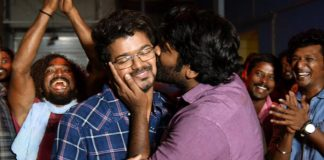 Master Update: Vijay Sethupathi Plants A Kiss On Thalapathy Vijay's Cheek, As The Duo Wrap Up The Action Thriller; Pic Goes Viral