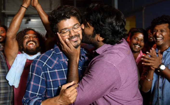 Master Update: Vijay Sethupathi Kisses Thalapathy Vijay's Cheek As The Duo Wrap Up The Film