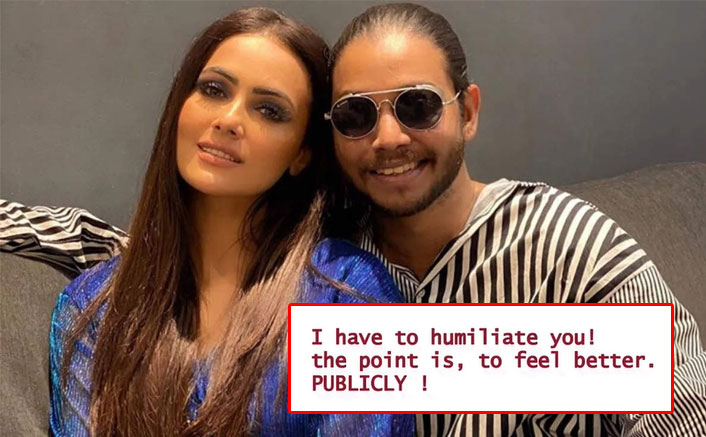 "Melvin Louis EXPOSES Sana Khan As He Leaks A Voice Recording, Says ""Hope You Feel Better Now…"""