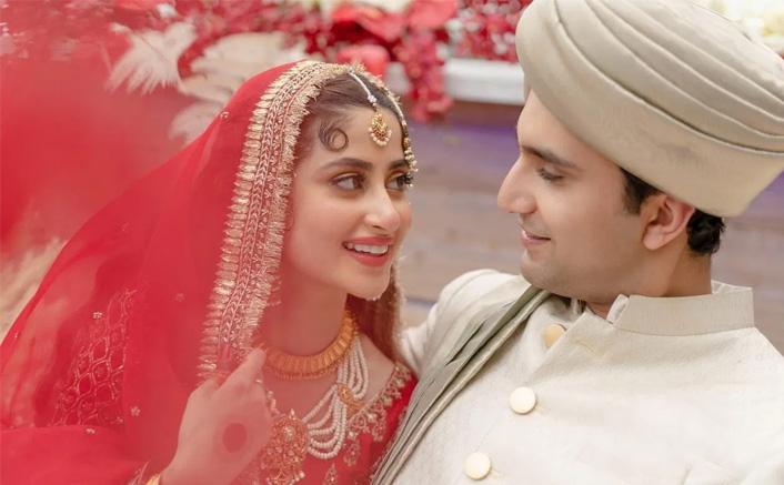 Sridevi's Daughter From 'Mom' Sajal Ali Ties The Knot In Abu Dhabi