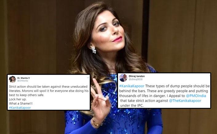 Netizens Demand ARREST Against Kanika Kapoor For Reported Reckless Behaviour, Bash Her; See Tweets