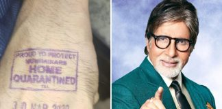 Amitabh Bachchan Does NOT Have The 'Home Quarantined' Stamp; Clarifies Rumours