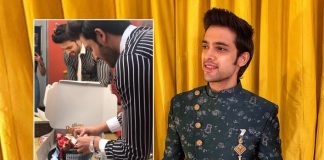 Parth Samthaan celebrates b'day on 'Kasautii Zindagii Kay' sets