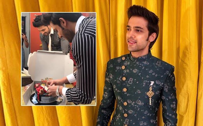 Parth Samthaan celebrates b'day on 'Kasautii Zindagii Kay' sets