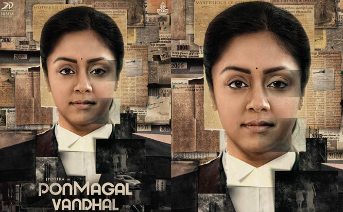 Pon Magal Vandhal: Jyothika As Lawyer Looks Enthralling From Her Next Thriller
