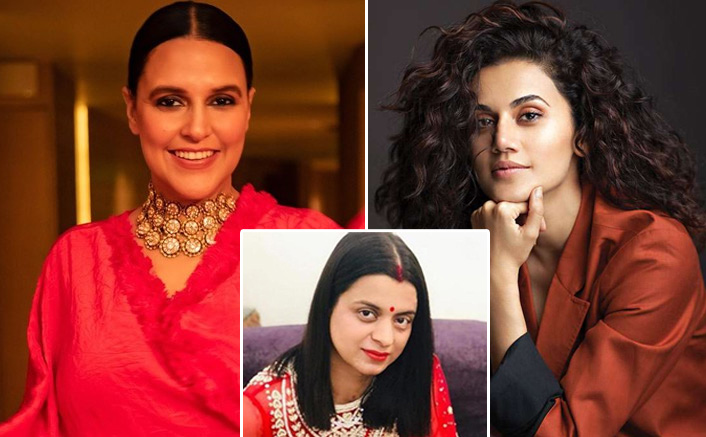 Rangoli Chandel Calls Neha Dhupia & Taapsee Pannu Fake Feminists, Blames Them Of Damaging The Movement
