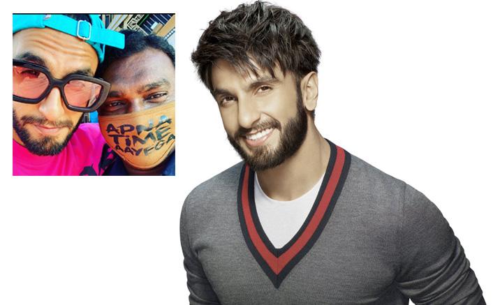 Ranveer Singh Wants An 'Apna Time Aaega' Mask To Beat The Coronavirua Pandemic!