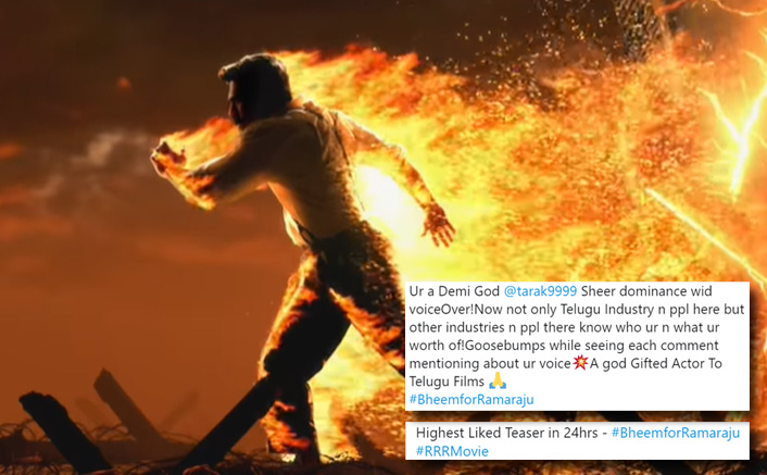 RRR: Twitterati Hail Ram Charan's Character Motion Poster As Alluri Sitarama Raju Backed With Jr. NTR's Solid Voice