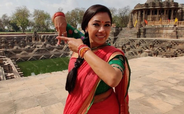 Rupali dances barefoot on scorching floor of Sun temple in Ahmedabad