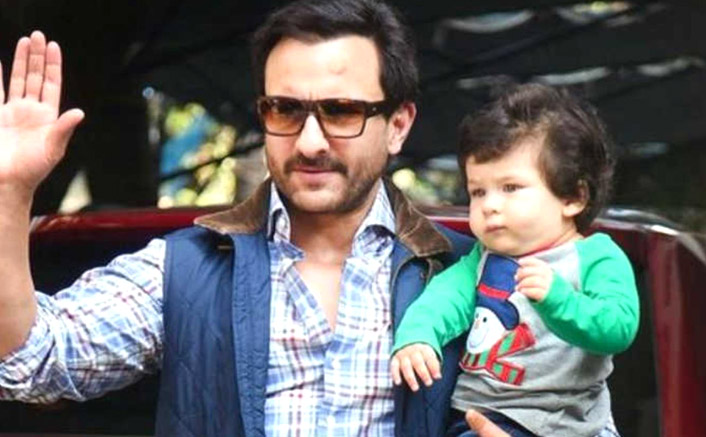 """Saif Ali Khan On Taimur Ali Khan Being Requested To Come On-Screen During An Interview: """"He's On The Potty"""""""