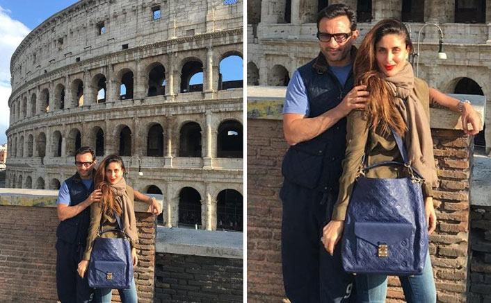 "Kareena Kapoor Khan's Pic With Saif Ali Khan From Italy Leads To Confusion; ""Don't Get Corona From There,"" Say Fans"