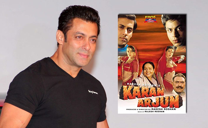 "Salman Khan On His & Shah Rukh Khan's Karan Arjun Completing 25 Years: ""I Have So Many Beautiful Memories"""