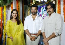 #SDT14: Pawan Kalyan Graces The Launch Event Of Sai Dharam Tej's Next With His Presence