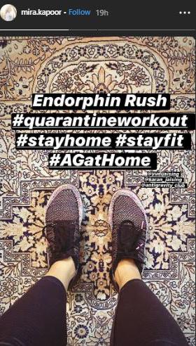 Shahid Kapoor and Mira Rajput Workout At Home Amid Coronavirus Outbreak