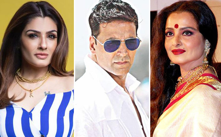 When Rekha Tried To Woo Akshay Kumar Despite His Relation With Raveena Tandon