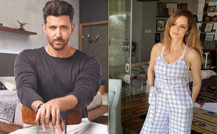 Hrithik Roshan's Comment On Ex-Wife Sussanne Khan's Birthday Look Is All Things Love