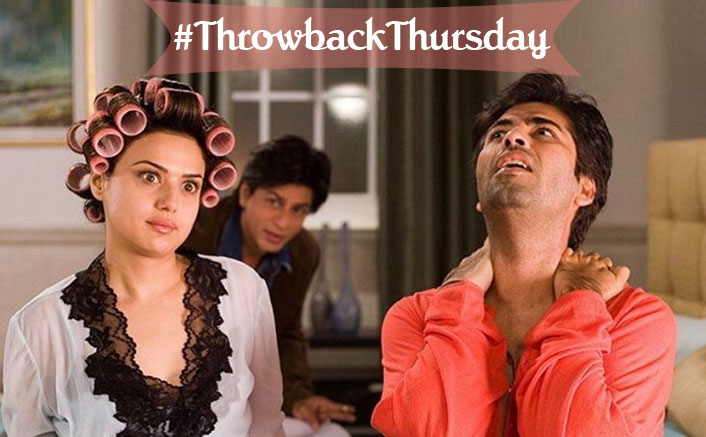 #ThrowbackThursday: Preity Zinta Asks Shah Rukh Khan To Guess What Karan Johar Is Saying In This Photo, Can You?