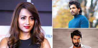 Trisha Hangout With Buddies Rana Daggubati & Allu Arjun Via Video Conference Call Amidst Social Distancing