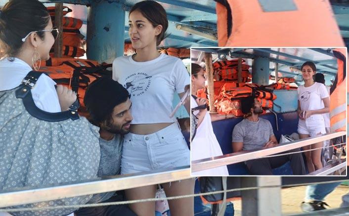 #VD10: Netizens Takes A Dig On Vijay Deverakonda & Ananya Panday's Hug