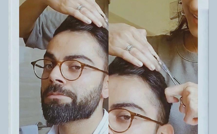 Virat Kohli Gets A 'Beautiful Haircut' By His Wife Anushka Sharma