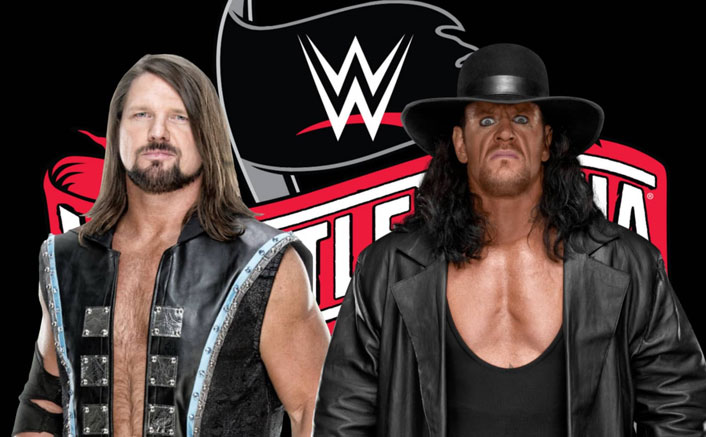 WWE: The Undertaker & AJ Styles To Fight In THIS Match At Wrestlemania 36