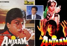 26 years of Shah Rukh Khan's Anjaam - The film that marked his hat-trick of anti-hero films after Baazigar and Darr
