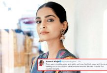 #9Bjae9Minute: Sonam Kapoor Slams The People Who Lit Crackers Gets Trolled Later