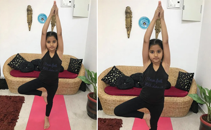 'Barrister Babu' child star Aura meditates for good health