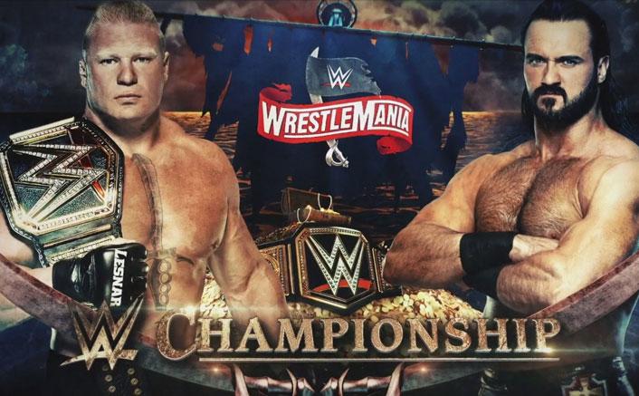 WWE Wrestlemania 36 Results: Brock Lesnar VS Drew McIntyre - Here Comes The SHOCKER!