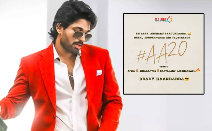#AA20: THIS Special Treat Awaits Allu Arjun Fans On His Birthday
