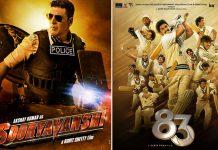 Akshay Kumar's Sooryavanshi & Ranveer Singh's '83 Amongst The Films To Face Loss As Not Covered By Insurance Policies?