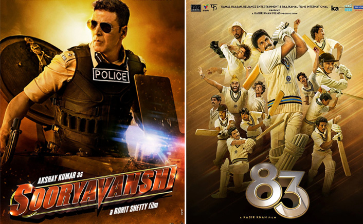 Akshay Kumar's Sooryavanshi & Ranveer Singh's '83 Amongst The Films To Face Loss As Not Covered By Insurance Policies?
