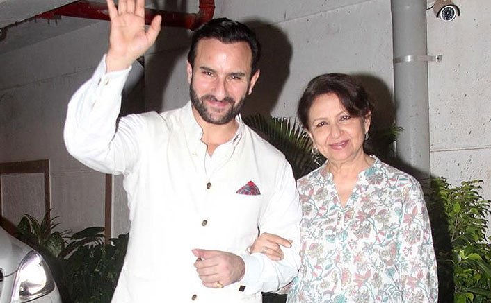 WHAT! Saif Ali Khan's Mom Sharmila Tagore Feels They Knew About The Pandemic Beforehand  But Hid It From Her
