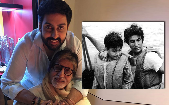 Amitabh Bachchan Reminisces The Time When He 'Almost Drowned' With Son Abhishek Bachchan