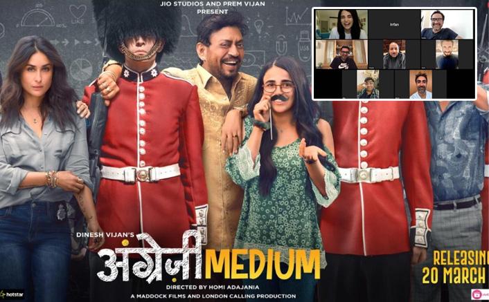 Angrezi Medium Releases On Disney Plus Hotstar, Radhika Madan, Irrfan Khan & Team Come Together Virtually For The Premiere