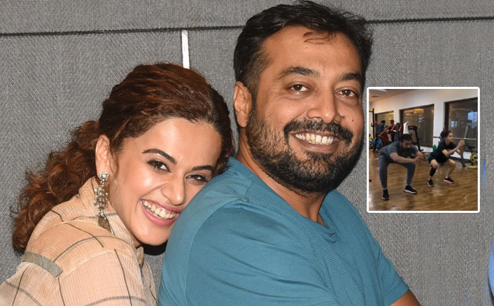 """Taapsee Pannu Shares A Workout Video Of Her & Anurag Kashyap On Instagram, Filmmaker Says, """"Tum Bahut Hi Kharaab Ho"""""""