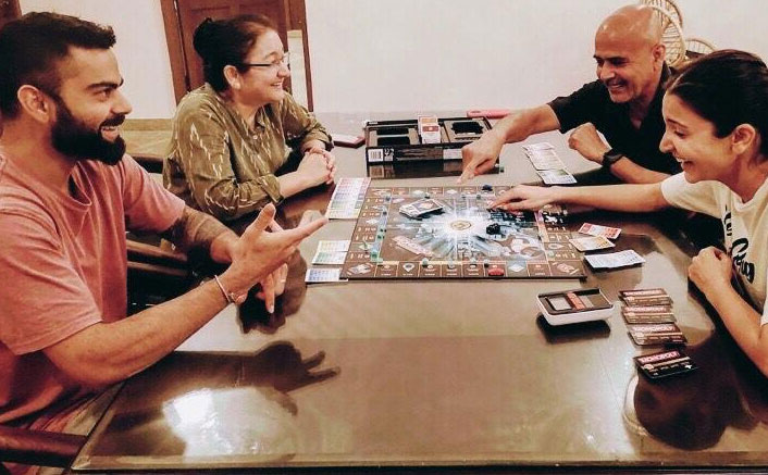 Anushka Sharma Enjoys A 'Super Close' Game Of Monopoly With Hubby Virat Kohli & Parents Amidst Lockdown