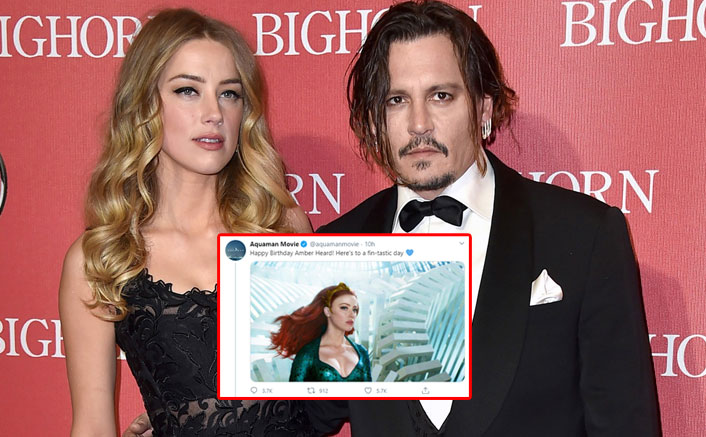 Aquaman Makers Wish Amber Heard On Her Birthday, Get Slammed By Johnny Depp Fans; Actress Tagged 'Abuser'
