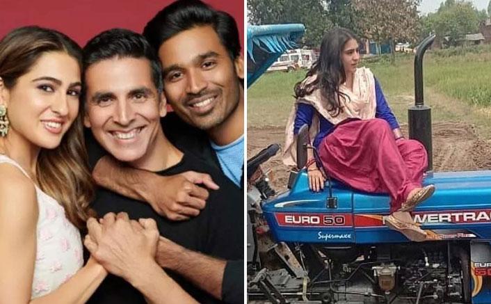 Atrangi Re: Sara Ali Khan's First Look LEAKED From Akshay Kumar-Dhanush Starrer!