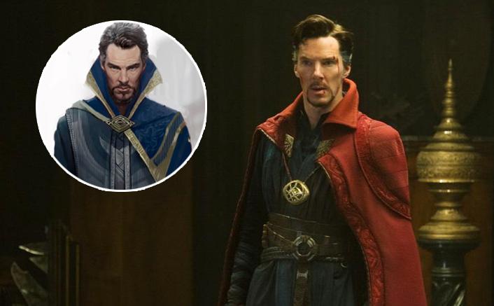 Avengers: Endgame Actor Benedict Cumberbatch AKA Doctor Strange's Unused Look In Blue Cloak Of Levitation Is Bewitching!