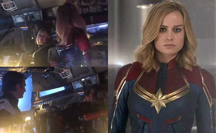 Avengers: Endgame: Captain Marvel Hugs Black Widow On Her First Day & It's Captain America's Smile That Won Our Hearts In This Throwback Video!